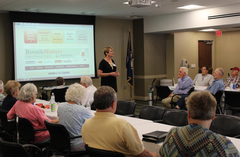 Joan Shifflett - Breathmatters Meeting Richmond VA June 2015